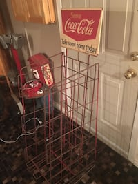 Coke display rack from 40 s