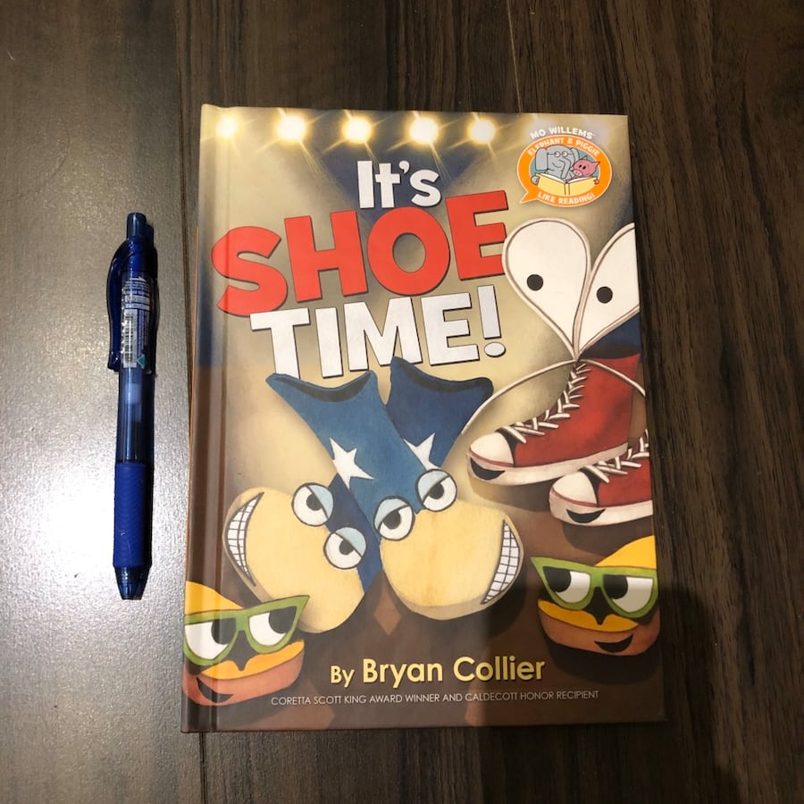 "New ""It's Shoe Time"" kid's book"