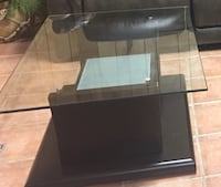 Glass and wood  brand new coffee table. I paid $344, but , I need to get rid of due to space.  Rockville, 20850