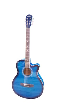 Blue acoustic guitar 40 inch full size brand new