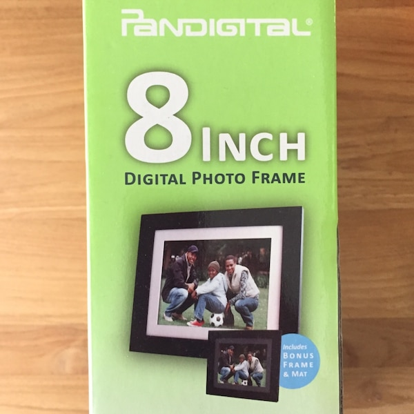 Pandigital 8 Digital Photo Frame Box Usado En Venta En Oakland Letgo