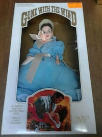 Gone with the Wind limited edition Melanie doll Cranston, 02920