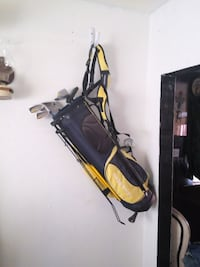black and yellow golf bag Los Angeles, 90063