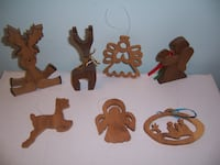 Wooden Christmas ornaments  Hagerstown