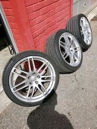 19 inch OEM A4 s new tires Toronto