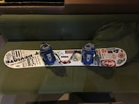5150 snowboard set with boots and bindings  Niagara Falls, L2G 7Y6