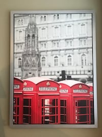 London Telephone Booth Decor Minneapolis, 55408