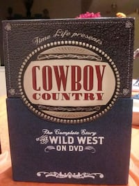 Presented by Time life A DVD collection about the famous wild west Upper Marlboro, 20774