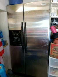 stainless steel side-by-side refrigerator Henderson, 89002
