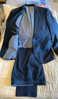 Alberto Cardinali Men's Slim-Fit Suit (French Blue) Chattanooga, 37409