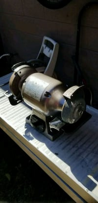 Marvelous Allied 8 In Bench Grinder 3 4 Hp Like New Ibusinesslaw Wood Chair Design Ideas Ibusinesslaworg