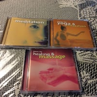 Audio CD Set for Yoga & Meditation Brampton, L7A 3M5