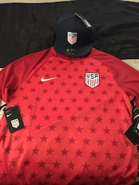 red and black Nike jersey shirt Jacksonville, 32208