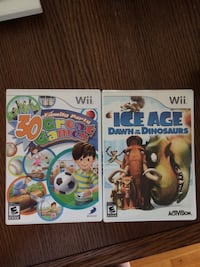 Nintendo wii games. 30 games in one DVD + ice age games Toronto, M3N 2R7