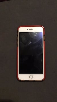 gold iPhone 6 with red case Lynn, 01902