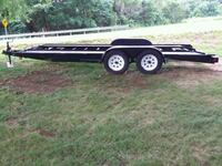 18 ft car trailer 4 new tires , winch an ramps Williamsport, 21795