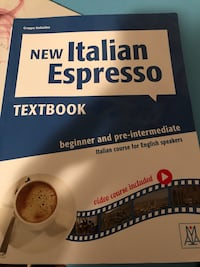 Italian textbook/workbook and disk Calgary, T3E