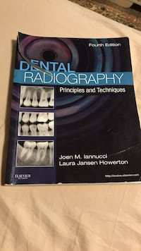 Dental Radiography fourth edition by Iannucci and Howerton book