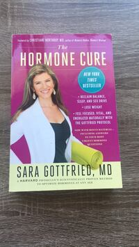 The Hormone Cure by  Sara Gottfried Sterling, 20166