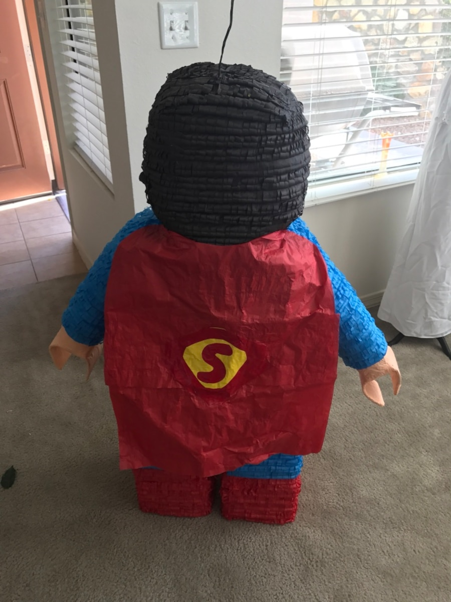 blue and red superman pinata - United States