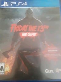 Friday the 13th game for PS4 (Pick up only)