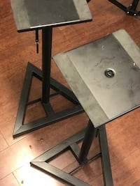 A pair of adjustable  metal speaker stands  Ashburn, 20147