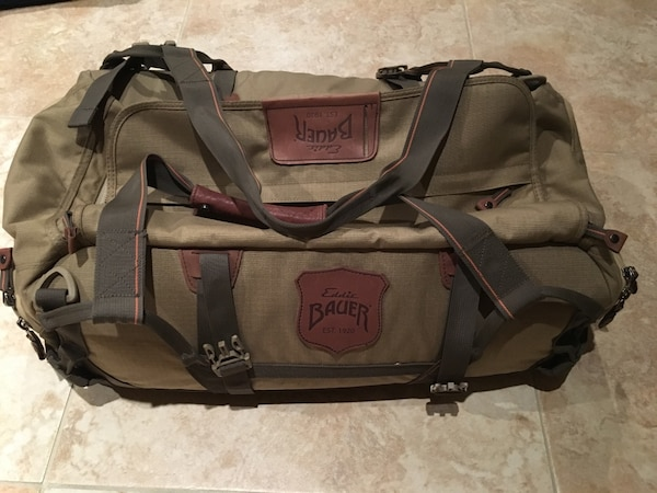 4fab860d9136 Used Eddie Bauer Adventurer Medium Duffel Bag for sale in Gilbert ...