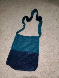 Retro Blue Ombre Purse from The Sak