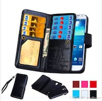 BNIP PU Leather wallet case for iPhone X