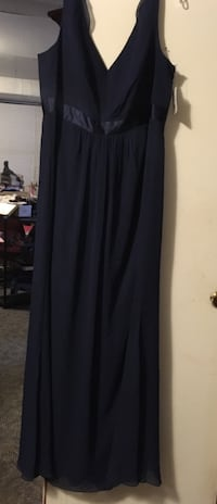 David's bridal NEW,size 20 navy blue color $50.00 or best cash offer. Cleveland, 37323