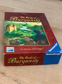The Castles of Burgundy board game Miami, 33131