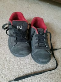 size 12 boys DC shoes. barely worn Great Falls, 59405