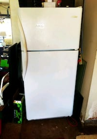 white top-mount refrigerator Cypress, 90630