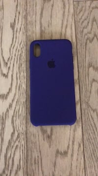 Apple iPhone X silicon case - purple  Vaughan, L6A 1S2