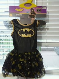 GUC  small 5-6 batgirl costume with accessories Mission, V2V 3V2