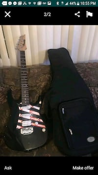 black and brown electric guitar Menifee, 92586