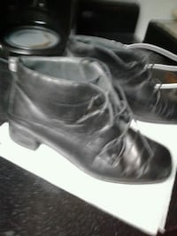 Black leather Size 6 and a half New heels replaced Mesa, 85213
