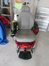 red and black motorized wheelchair Fleming Island, 32003