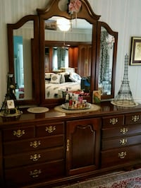 Dresser part of 3 Piece Cherry Bedroom set  40 km