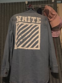 Authentic off-white jean jacket