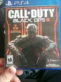 Call of Duty Black Ops 3 PS4 game case Honey Brook, 19344