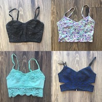 Set of 4 Crop Tops - EUC/LNC Vancouver, V5R 0A1