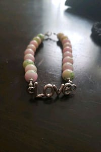 "Multi color ""love"" bracelet"