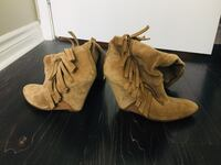 Suede Boots/Booties with Leather Soles Toronto, M5V 3V7