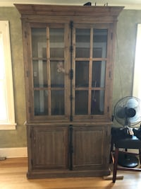 Natural wood untreated cabinet Great Falls, 59405