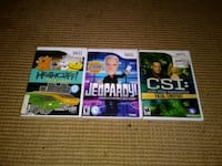 three assorted Xbox 360 game cases New Orleans, 70130