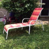 Stripped patio lounge chair Mississauga, L5J 1V6