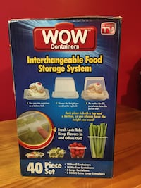 Plastic Storage Containers (Food / Candy Containers) Food Storage