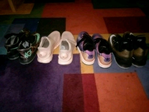 2d548f57d51f50 Used four pairs of Air Jordan basketball shoes for sale in Dunwoody ...