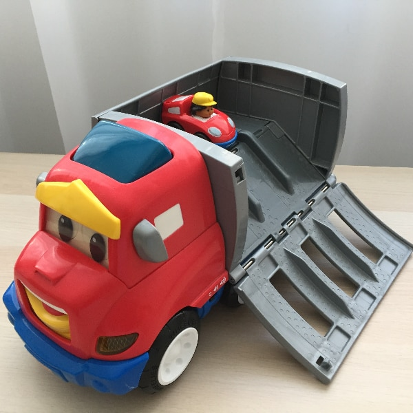 Zig le camion transporteur - Fisher-Price Wheelies - Zig the Big Rig 106a4779-a707-4497-ac49-939d9abd00c4